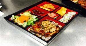 Crispy Flounder Bento Lunch