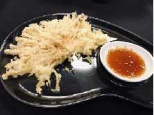 Crunchy Enoki Tempura