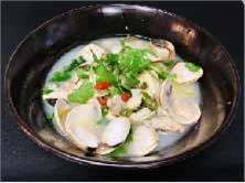Garlic Sake Clam